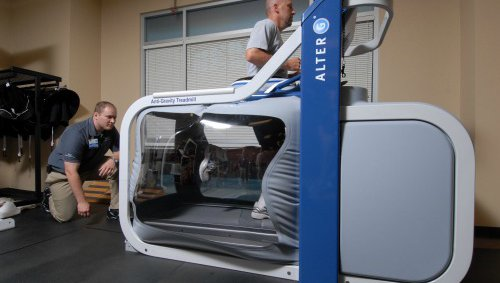 At CoxHealth, our suite of sports medicine services includes cutting-edge equipment like the Alter G Treadmill.