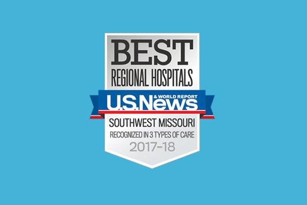 Best Regional Hospitals badge