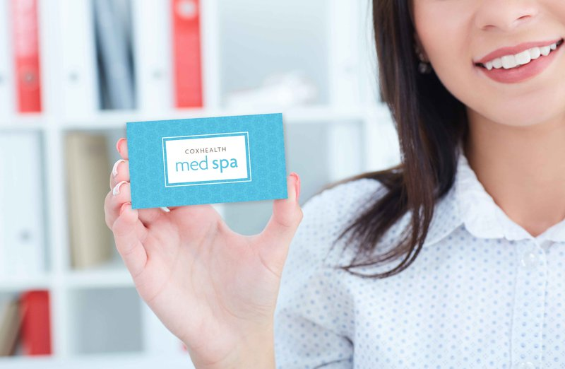 A CoxHealth med spa gift card