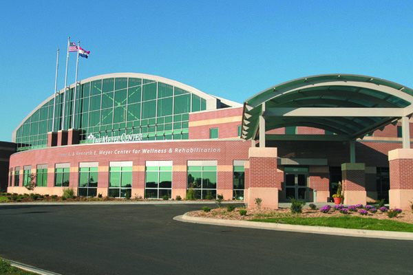 The Meyer Center from the outside.