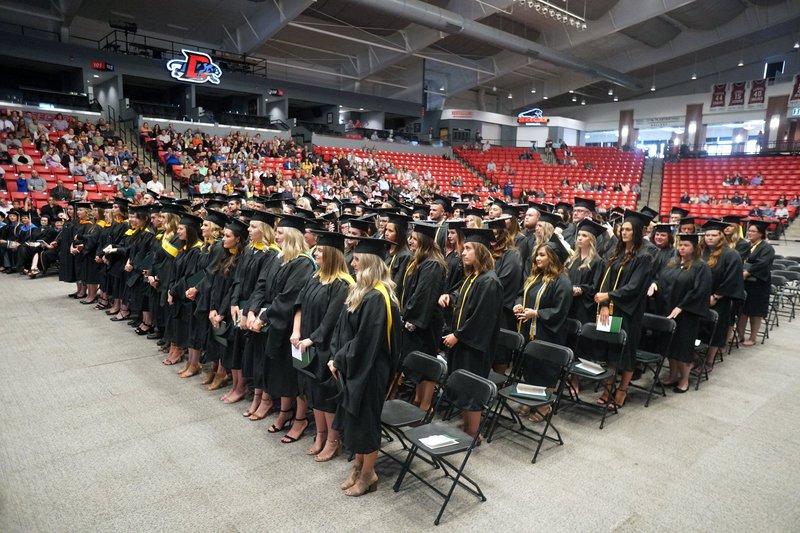 Cox College graduation 2