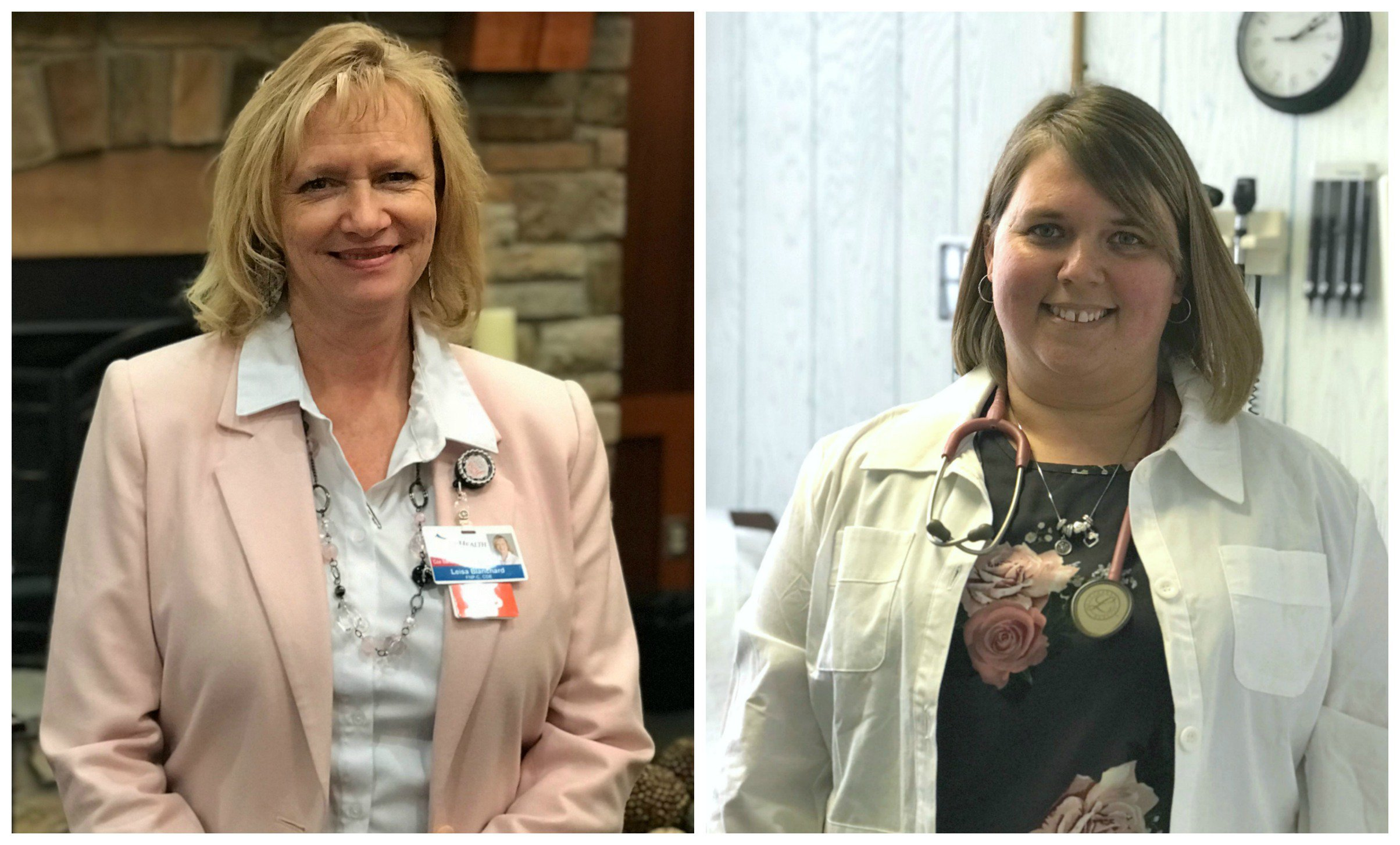 Two new providers are shown who recently began serving in Barton County.