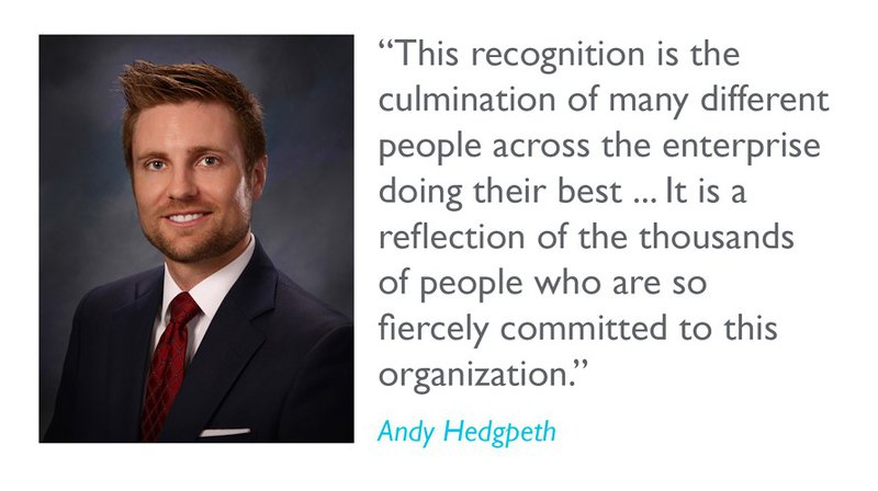 Best Place to Work Andy quote