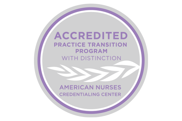 An image shows the logo tied to the accreditation.