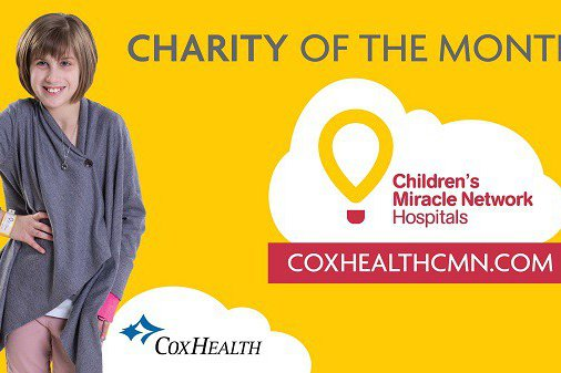 Charity of the month from Childrens Miracle Network