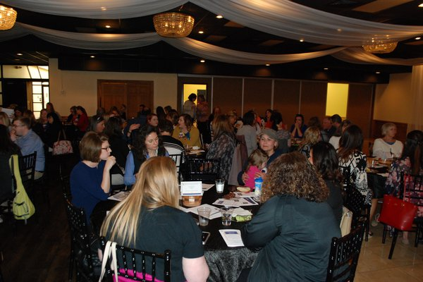 Full room for nurses recognition night