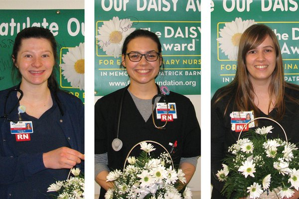 CoxHealth's most recent DAISY Award honorees in Springfield.