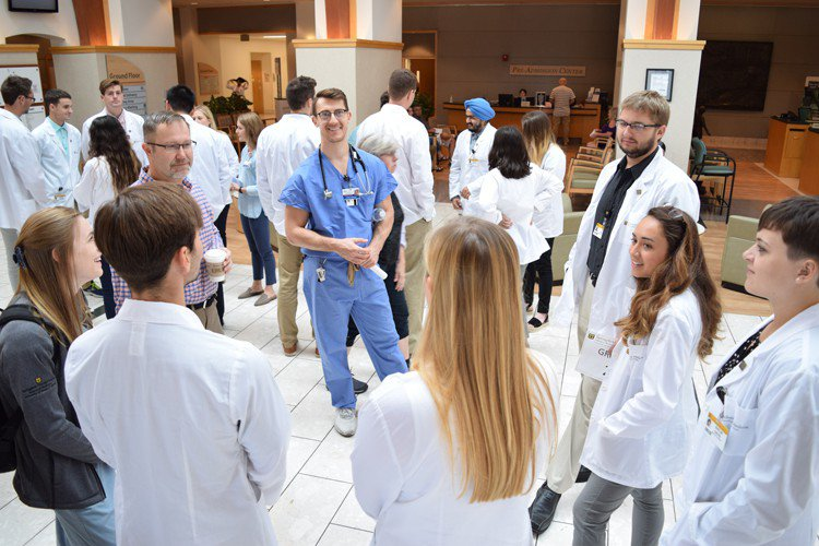 MU med students tour 3