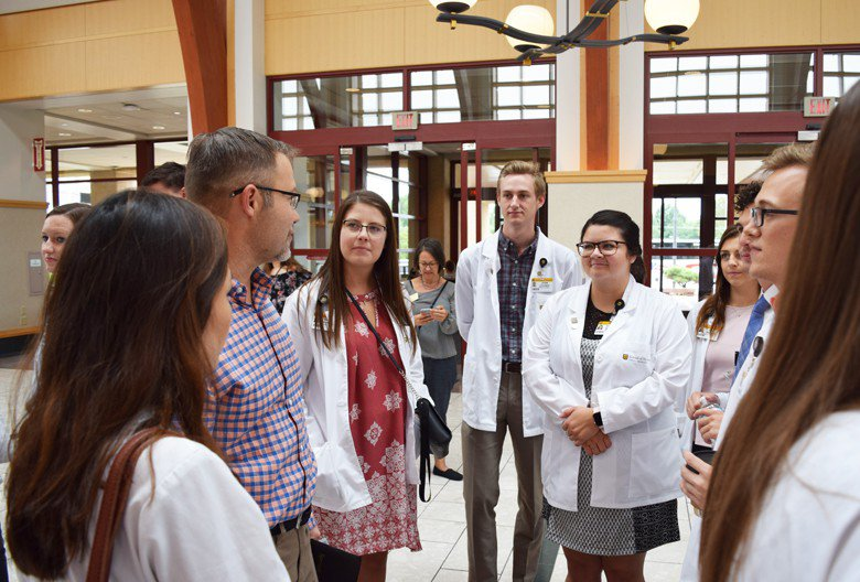 MU med students tour4