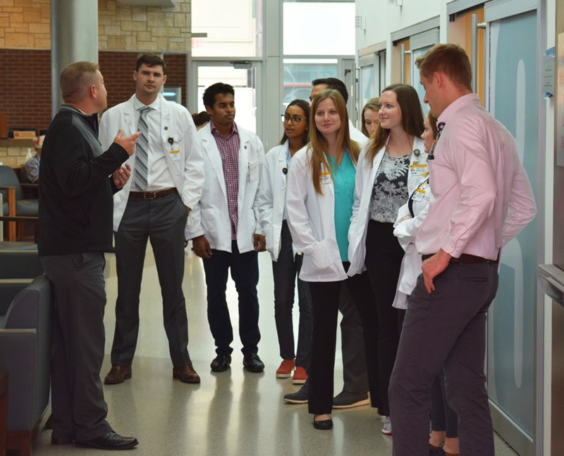 MU med students tour 2