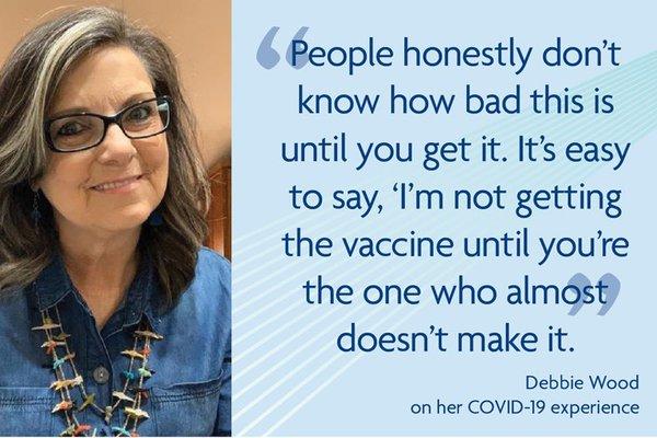 Debbie Wood quote