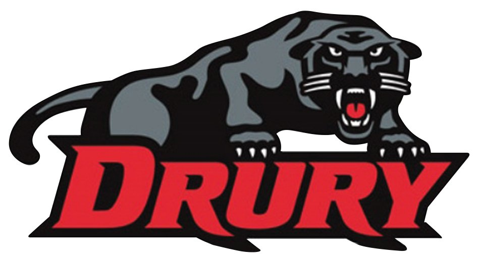 Drury University logo.