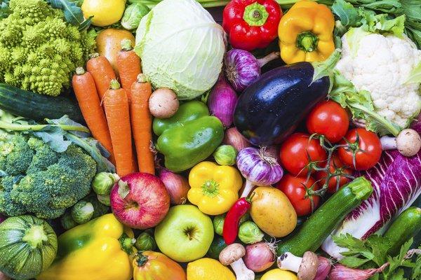 Variety of produce.