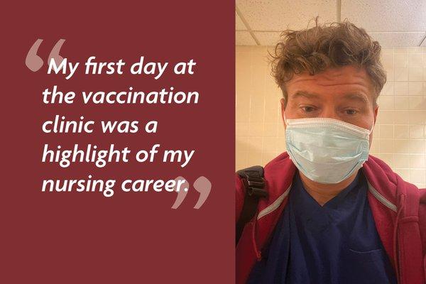 Joshua Hawkins vaccine clinic quote