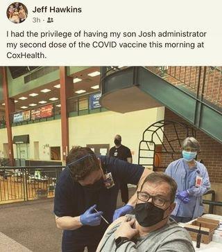 Joshua Hawkins and Jeff Hawkins from facebook