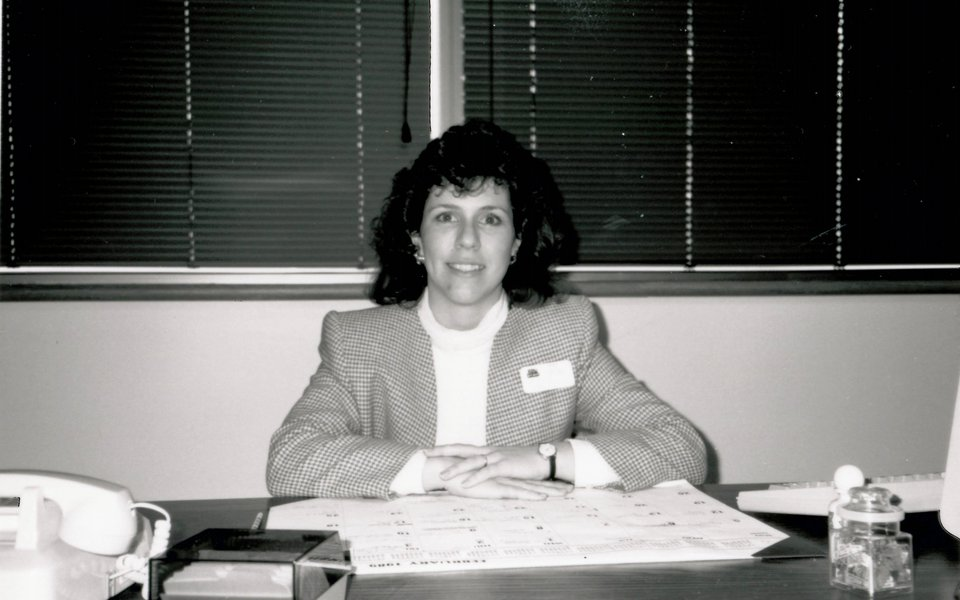 A historic photo of Karen Kramer