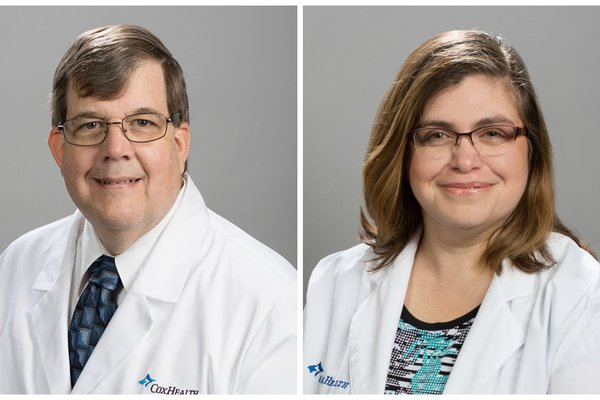Dr. Randal Qualls and Cathy Greenlee are shown in two head shots.