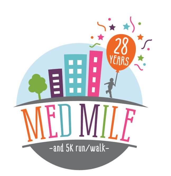The image shows the logo for Med Mile.