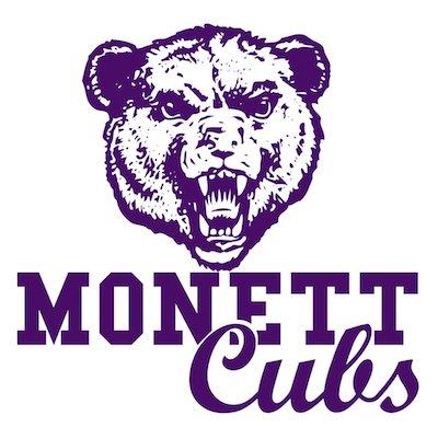 Monett schools logo.