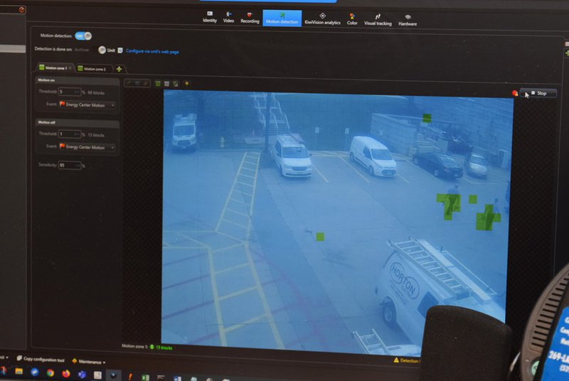 Motion detection 2