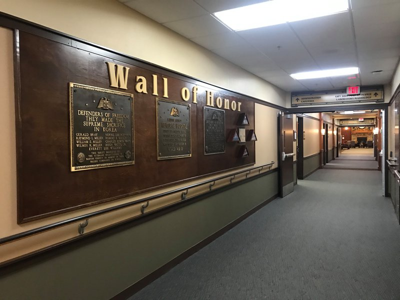 Cox Barton County Hospital plaque 2