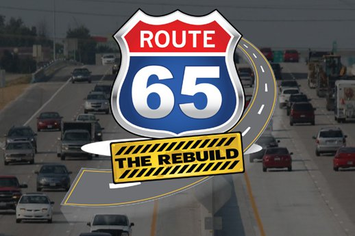 Route 65 rebuild logo