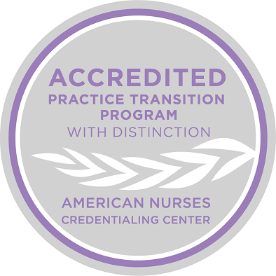 Accreditation with Distinction from the American Nurses Credentialing Center.