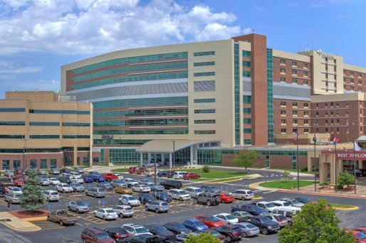 The image shows Cox Medical Center South.