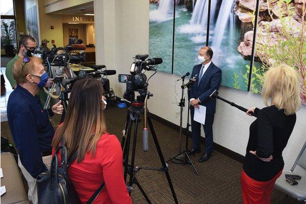 Edwards press conference