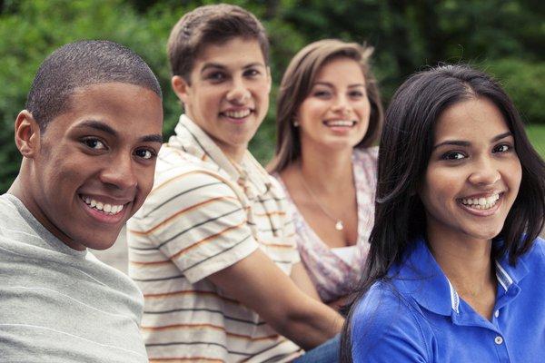 Group of teenagers.