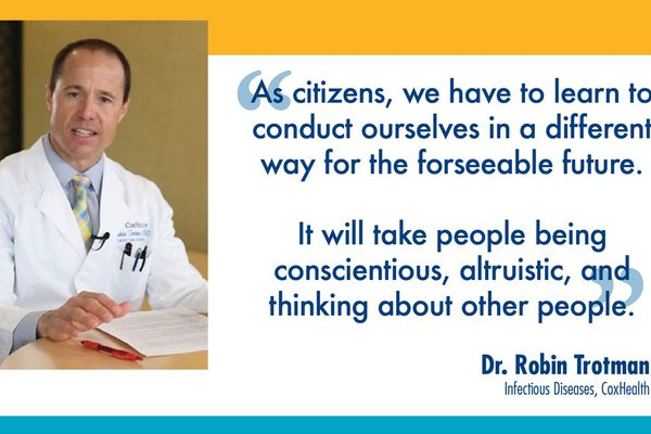 Quote from Dr. Robin Trotman