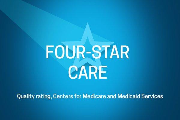 Four-Star Care Rating Logo