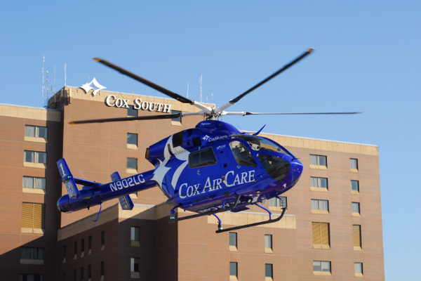 Cox Air Care Helicopter