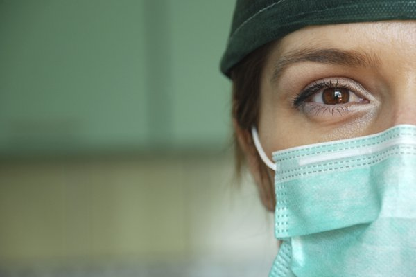 An image shows a medical professional.
